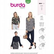 6367 Burda Pattern: Misses' Tops